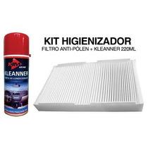 Filtro Ar Condicionado Cabine Gm Corsa 2002 Em Diante Kit