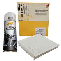 Filtro Ar Condicionado Cabine E Higienizador - Punto E Linea