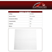 Filtro De Ar Condicionado Honda Accord 2.4 16v 03 A 04
