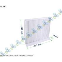 Filtro De Cabine Ar Condicionado Punto Linea Todos - Schuck