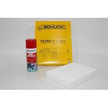 Filtro Ar Condicionado+higienizador Wurth Limão - New Betlle