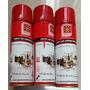 03 Peças Limpa Ar Condicionado Higienizador Spray 320ml
