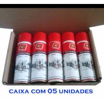 Caixa 05 Unidades Limpa Ar Condicionado 320 Ml, Higienizador