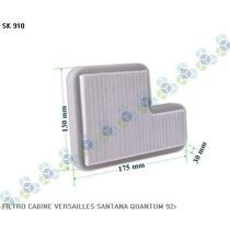Filtro De Cabine Ar Condicionado Santana 92/... - Schuck