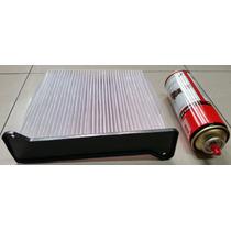 Filtro Ar Condicionado Com Tampa E Higienizador L200 Triton