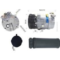 Compressor Gm Vectra 94/96 + Filtro Secador - Produto Novo