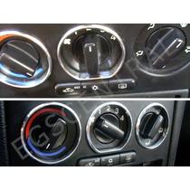 Kit Aro Cromado Painel Botão Ar Chevrolet Astra Opel Gsi Vxr