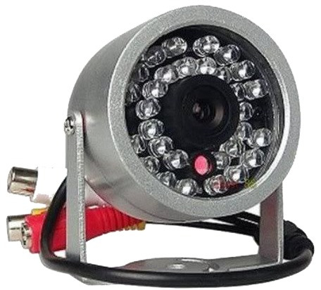 Câmera Cmos 380l 30leds Infravermelho Infra Com Áudio Cb805