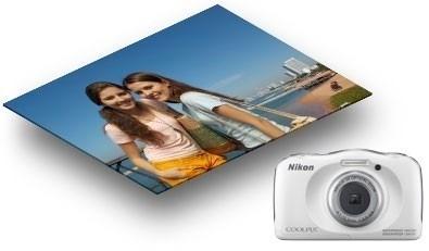 Câmera Nikon Coolpix S33 -10 M + Bolsa,32gb Classe 10, Tripé