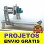 6 Projetos Fresadora Router Cnc Maquinas Hobby + Brindes!