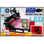 Fresadora Router Cnc-usb-led-350x350mm+video Aula Exclusiva