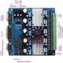 Placa Controladora Tb6560 5 Eixos - Motor De Passo Fresa Cnc