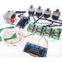 Kit Controladora Driver Cnc 4 Eixos Tb6560 Completa +motores