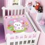 Cobertor Jolitex Infantil Berço Bebê Fisher Price Coelhinho