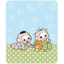 Cobertor Estampado Turma Da Mônica Baby Incomfral