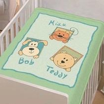 Cobertor Bebê Jolitex Anti Alergico Baby Pets