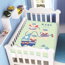 Cobertor Jolitex Infantil Berço Bebê Raschel Três Marinheiro