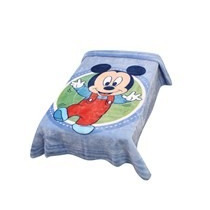 Cobertor Disney Mickey Feliz Azul Jolitex! Frete Grátis