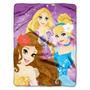 Manta C/toque Seda Princesas Disney, Brumas Verão (46-inchx