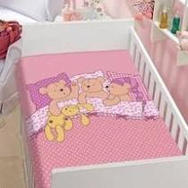 Cobertor Para Bebê Anti-alérgico Jolitex Esperando O Soninho