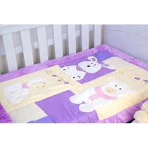 Edredon Berço Bebe Estampa Bichinhos Cobertores Parahyba