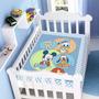 Cobertor Jolitex Infantil Berço Bebê Disney Mickey Turminha