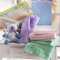 Cobertor Infantil Jolitex Ternile - Raschel Com Relevo