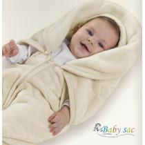 Saco De Dormir Para Bebê Em Microfibra Baby Sac - Jolitex