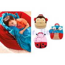 Cobertor Manta Infantil Para Viagem Com Alça **novidade**