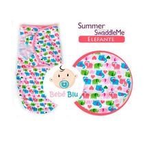Cueiro Bebê Swaddleme Cobertor Manta Enxoval Summer Swaddle