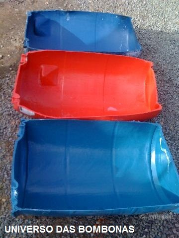 Cocho De Bombona Plastica Para Ração Animal