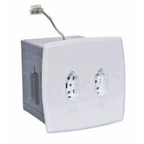 Cofre Tomada Pequeno P/ Embutir Com Elétrica Funcional