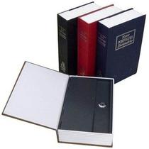 Cofre Camuflado Formato Livro Dicionário Chaves Porta Jóias
