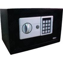 Cofre Eletronico Digital Em Aço + Baterias + Kit Parede + Nf