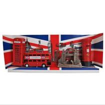 Kit Cabine Telefônica Ônibus Torre Bridge Correios Londres
