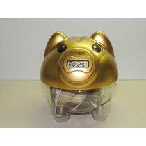 Cofre Porquinho Digital Contador De Moedas Pig Bank