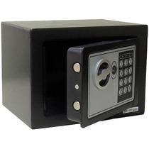 Cofre Eletrônico Digital Aço Teclado Senha + Chaves