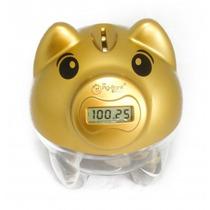 Cofre Porco Pig Bank Porquinho Digital Conta Moedas Presente