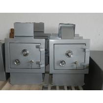 Cofre Em Aço Mecânico Boca De Lobo Chaves Combinação Ac 36