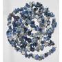 Cascalho Sodalita Pedra Natural Azul Branc 90cm Teostone 399