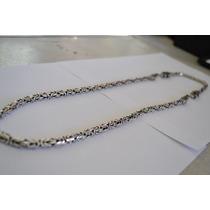 Corrente+pulseira De Bali Peruana Em Prata 925 Fecho/dragão