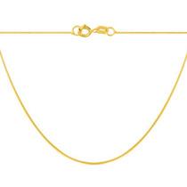 Gargantilha Veneziana Ouro 18k 45cm + Frete+ Caixinha Veludo