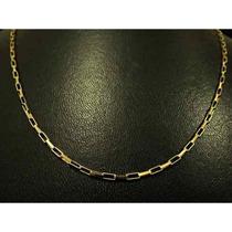 Corrente Ouro 18k Maciça Cartie Quadrada 10grs 60cm