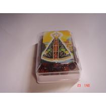 Terço De Madeira P/ Pescoço C/ Crucifixo - Nossa Senhora