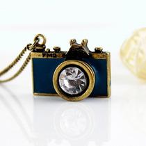 Lindo Colar Camera Vintage - Fotografia Colar Fotografo