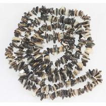 Cascalho Madreperola Branca E Negra 90cm Teostone Joia 361