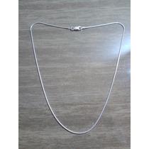 Colar Corrente Prata Italiana Maciça 925 40 Cm