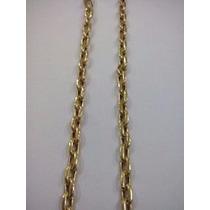Cordão Modelo Cartier (oco)em Ouro 18k 7gr.
