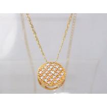 Boqueiraojoias Corrente Pingente 26 Diamantes Ouro 18k-750