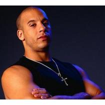 Colar Cordão Cruz Dominic Toretto Velozes E Furiosos